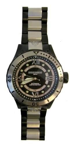 Immersion Herren-Armbanduhr Analog Edelstahl schwarz IM8211