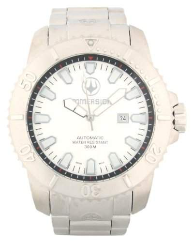 Immersion Herren-Armbanduhr Analog Edelstahl grau IM8501