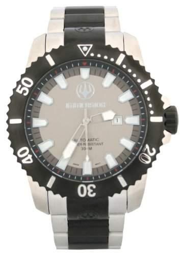 Immersion Herren-Armbanduhr Analog Edelstahl schwarz IM8502