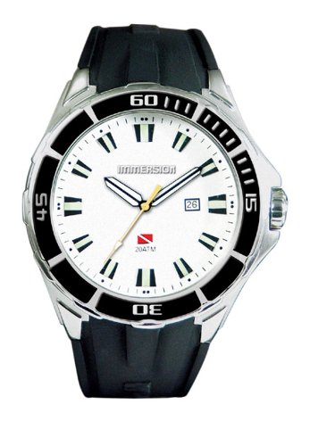 Immersion Herren Armbanduhr Analog Plastik schwarz IM6850
