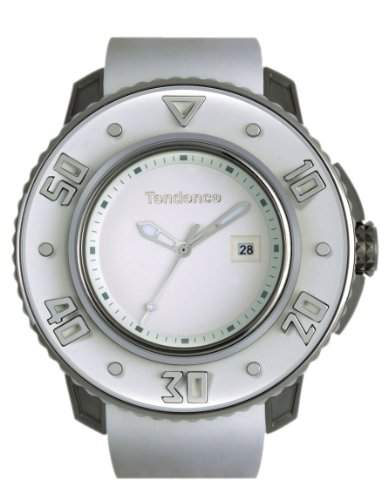 Tendence Unisex-Armbanduhr G-52 Chronograph Titanium 2103002