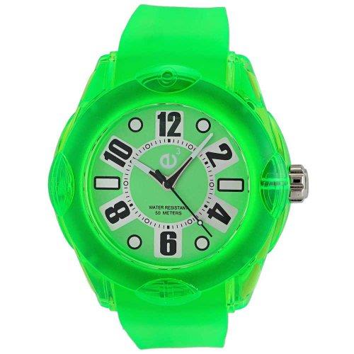 Tendence Unisex Armbanduhr Rainbow 3 Zeiger 02013042