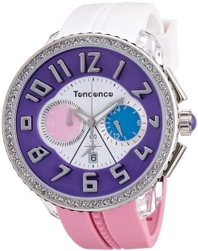 TENDENCE Unisex-Armbanduhr TENDENCE - CRAZY Analog Plastik Mehrfarbig TO460405