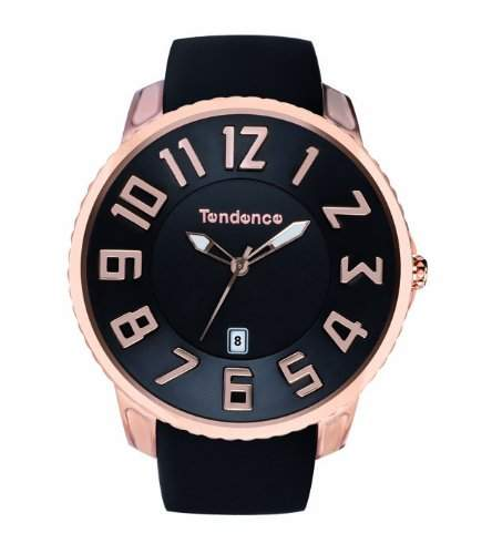 Tendence Unisex-Armbanduhr Analog Kautschuk TS151003
