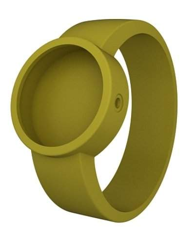 O clock Unisex-Wechselarmband fuer Armbanduhr hellgruen Silikon 32 mm COVERXS_MU