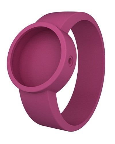 O clock Unisex Wechselarmband fuer Armbanduhr pink Silikon 32 mm COVERL TE