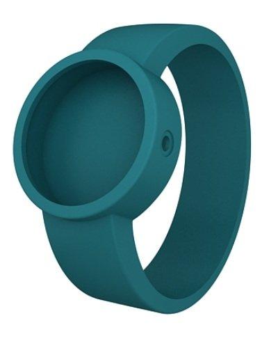 O clock Unisex Wechselarmband fuer Armbanduhr blau Silikon 32 mm COVERS BA