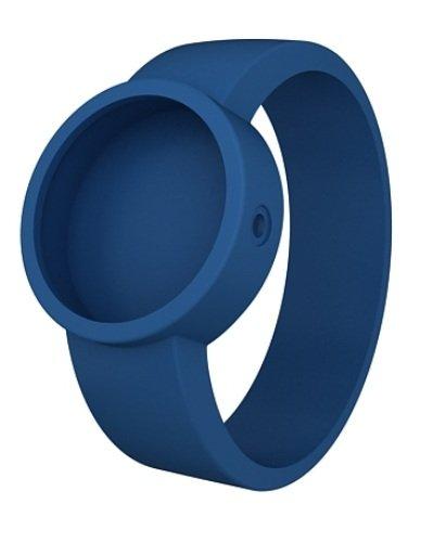 O clock Unisex Wechselarmband fuer Armbanduhr blau Silikon 32 mm COVERS BC