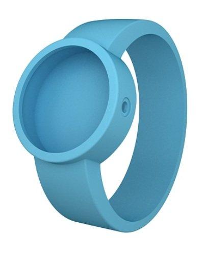 O clock Unisex Wechselarmband fuer Armbanduhr blau Silikon 32 mm COVERS CE