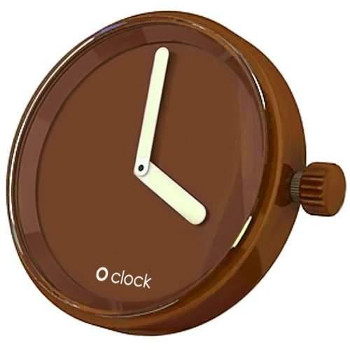 O Clock Unisex-Uhrengehaeuse taupe OCF04