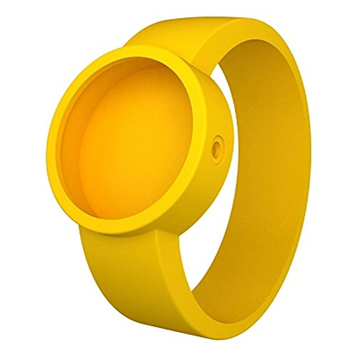 oder Clock ocs21 x Armbanduhr Silikonarmband Farbe Gelb