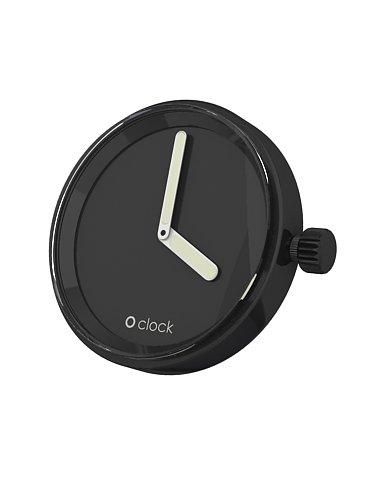 O clock Unisex Uhrengehaeuse MECHANISM fuer Armbanduhr schwarz Analog 32 mm MEC NS