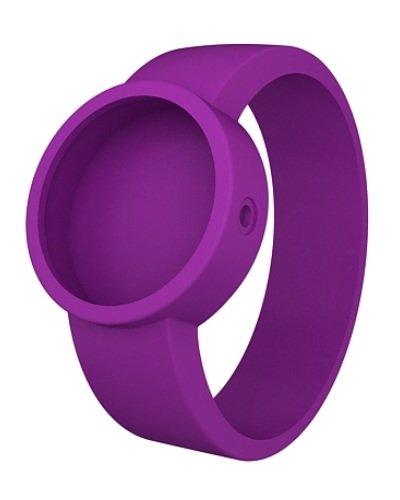 O clock Unisex Wechselarmband fuer Armbanduhr violett Silikon 32 mm COVERS VT