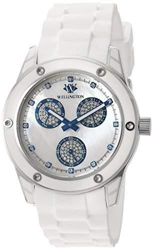 Wellington Damen-Armbanduhr Geraldine Analog Silikon WN506-186A
