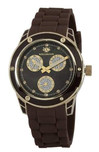 Wellington Damen-Armbanduhr Geraldine Analog Silikon WN506-220