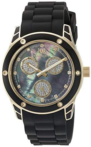 Wellington Damen-Armbanduhr Geraldine Analog Silikon WN506-222B