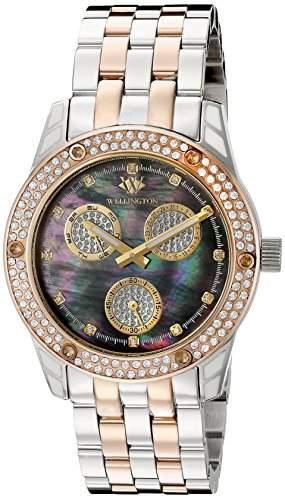 Wellington Damen-Armbanduhr Mataura Analog Edelstahl WN507-121B