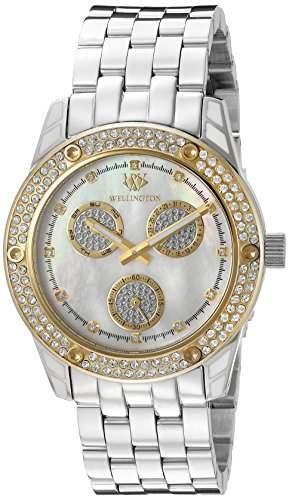 Wellington Damen-Armbanduhr Mataura Analog Edelstahl WN507-181B