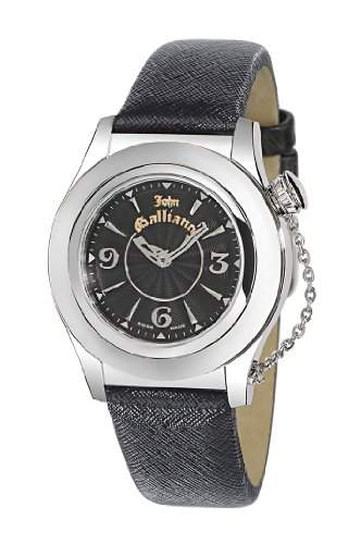 John Galliano Damen-Armbanduhr New Élu R1551102525