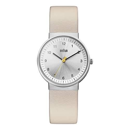 Braun Damen-Armbanduhr BN0031SLBGL Analog Quarz Leder BN0031SLBGL