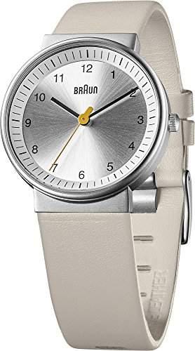 Braun Unisex-Armbanduhr BN0031SLBKL Analog Quarz Leder 66567