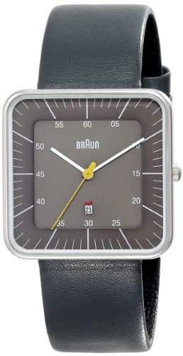 Braun Herren-Armbanduhr XL BN0042GYGYG Analog Edelstahl