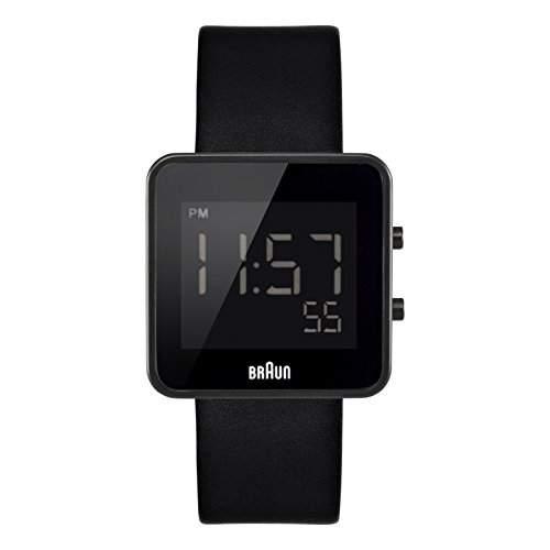Braun Herren-Armbanduhr XL BN0046BKBKG Digital Edelstahl