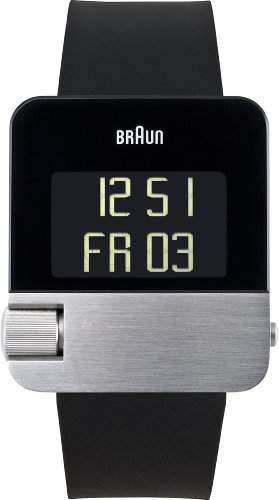 Braun Unisex-Armbanduhr PRESTIGE WATCH Digital Quarz BN0106SLBKG