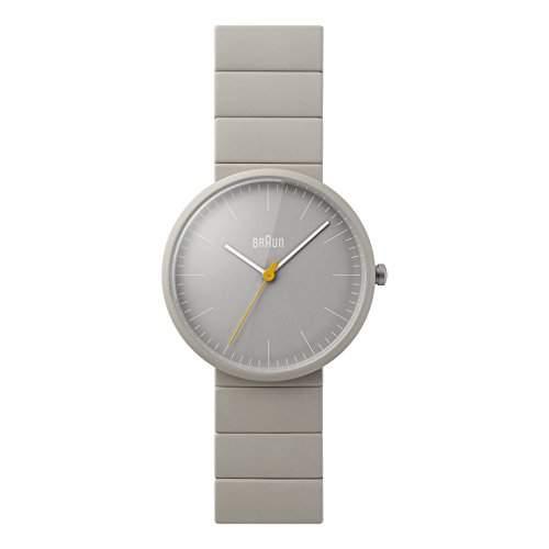 Braun Unisex-Armbanduhr BN0171GYGYG Analog Quarz Keramik BN0171GYGYG