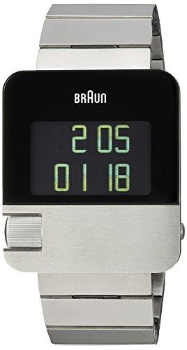 Braun BN0106SLBTG Prestige Digital silber mit Edelstahlarmband