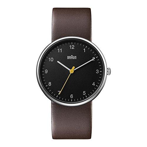 Braun Herren Armbanduhr Analog BN0231BKBRGAL