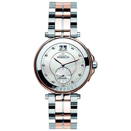 Michel Herbelin Unisex Erwachsene Armbanduhr 18266 BTR89