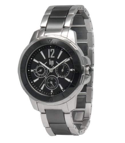 Lip Style Damen-Armbanduhr 10839822 Analog Keramik Schwarz
