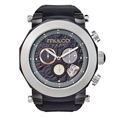 Mulco Eros MW3 14027 024 Black Band Swiss Quartz Watch