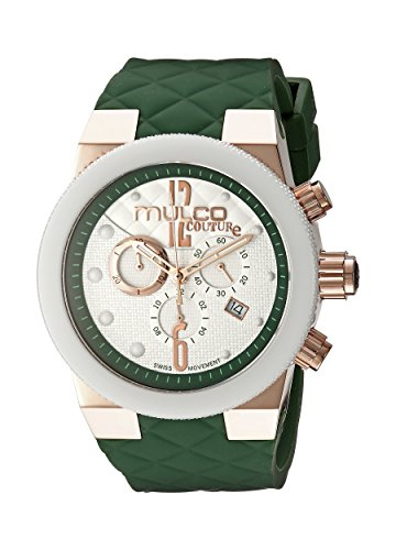 Mulco Damen MW5 2552 483 Couture Analog Anzeigen Schweizer Quartz Green Uhr