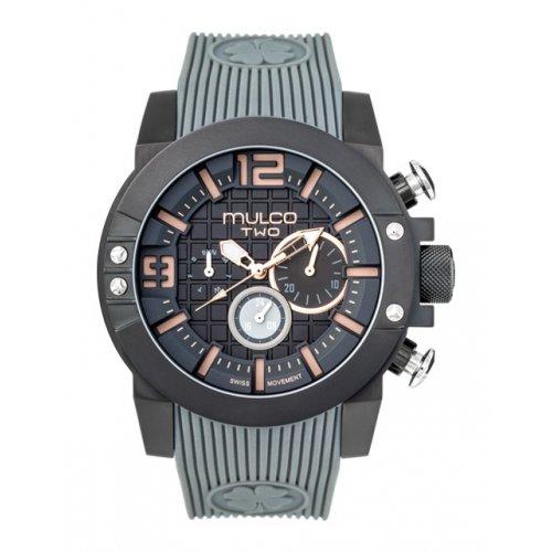 Mulco MW5 3704 215 beobachten schwarze Silikon Mann Chronograph
