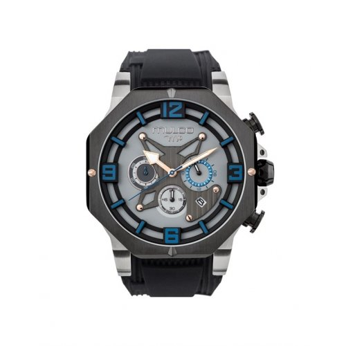 Mulco MW5 3741 026 Uhr Silikon Chronograph Gray Man