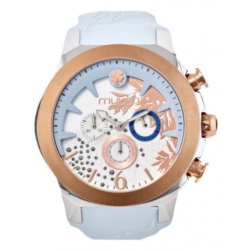 MULCO MW5 3810 413 Weibliche Blau Silikon Multifunktions Uhr