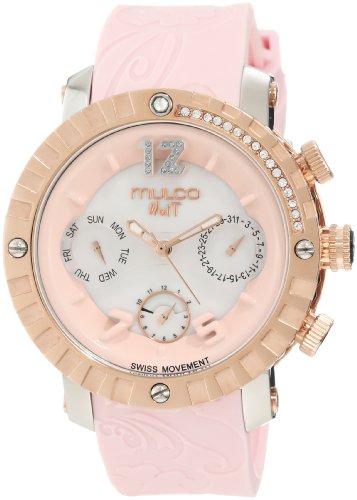 Mulco Unisex MW5 1622 813 Nuit Lace Chronograph Swiss Movement Uhr