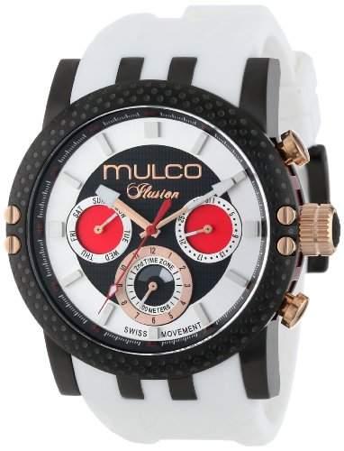 MULCO Unisex MW3-11169-015 Lincoln Illusion Chronograph Analog Swiss Movement Uhr