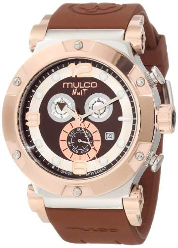 Mulco Unisex MW5-1623-033 Nuit Track Chronograph Swiss Movement Uhr