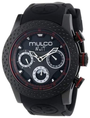 MULCO Unisex MW5-1962-261 Analog Chronograph Swiss Uhr