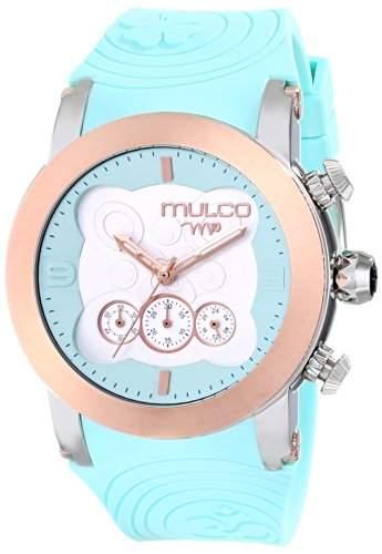 MULCO Unisex MW5-2873-413 Analog Display Japanese Quartz Blue Armbanduhr