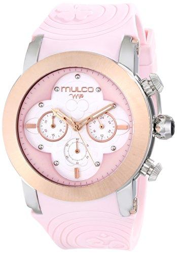 MULCO Unisex MW5 2873 813 Analog Display Japanese Quartz Pink Armbanduhr