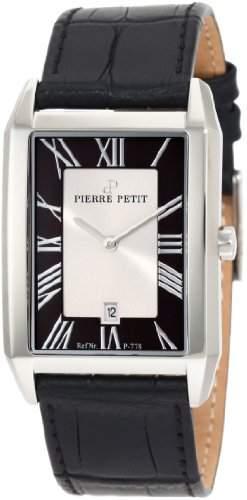 Pierre Petit Herren-Armbanduhr Paris Analog Leder P-778A