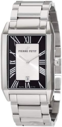 Pierre Petit Herren-Armbanduhr Paris Analog Edelstahl P-778C