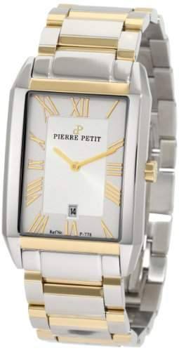 Pierre Petit Herren-Armbanduhr Paris Analog Edelstahl P-778D