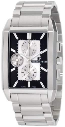 Pierre Petit Herren-Armbanduhr Paris Chronograph Edelstahl P-780C