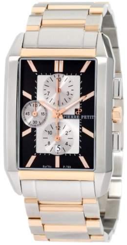 Pierre Petit Herren-Armbanduhr Paris Chronograph Edelstahl P-780D