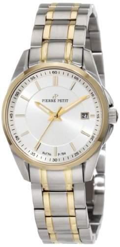 Pierre Petit Damen-Armbanduhr Le Mans Analog Edelstahl P-784E